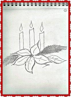 Sketchbook_Poinsettias_Candles03